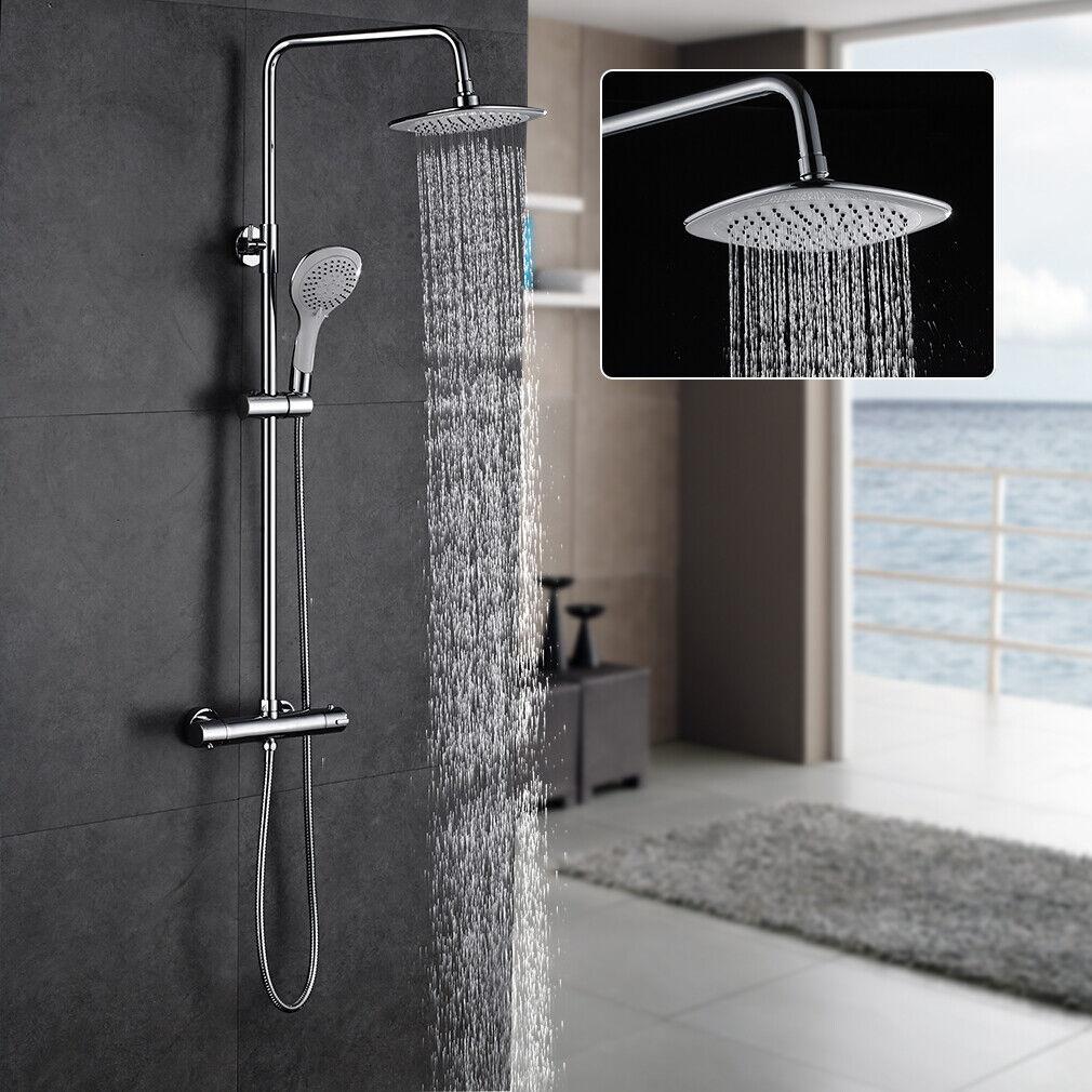 Duschsystem mit Thermostat Regendusche Duschset Duschsäule Dusche Duscharmatur