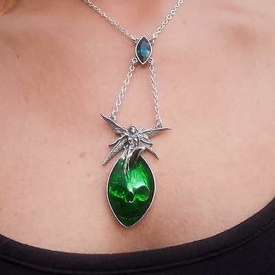 GENUINE Alchemy Gothic Pendant - Absinthe Fairy | Ladies Alternative Necklace