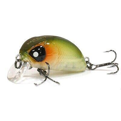 Lucky John Pro Series Haira Tiny 44F fishing lures range of colors