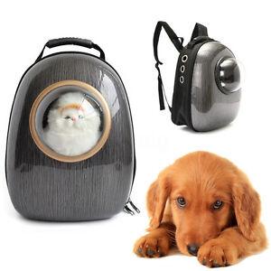 Pet Dog Cat Astronaut Capsule Backpack Transparent Breathable Carrier Travel Bag