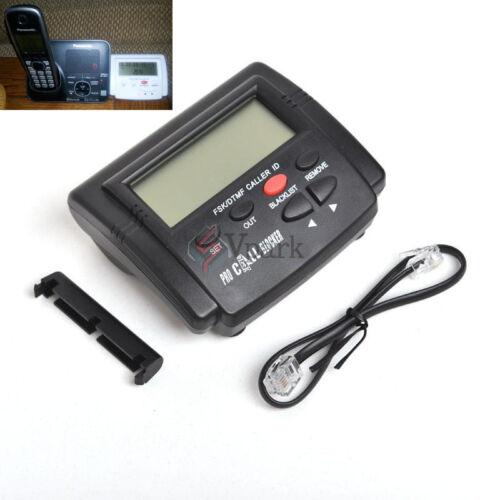 INCOMING CALL BLOCKER w//LCD DISPLAY /& BLOCK 1,500 PHONE STOP SCAM CALLS