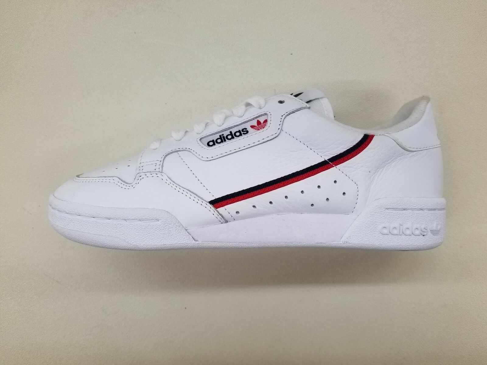 ADIDAS ORIGINALS CONTINENTAL 80 WHITE NAVY blueE RED MENS SIZE SNEAKERS B41674