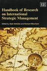 Handbook of Research on International Strategic Management by Edward Elgar Publishing Ltd (Paperback, 2014)
