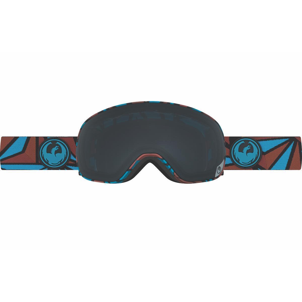 Dragon X2s Goggles Structure Dark Smoke + Yellow bluee Ion
