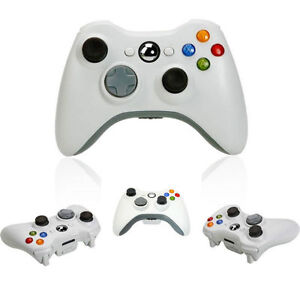 JOYSTICK-JOYPAD-XBOX-360-X360-WIRELESS-SENZA-FILI-WIFI-COMPATIBILE-CONTROLLER