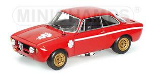 Alfa ROMEO GTA 1300 Junior 1972 Minichamps 1 18 AA 100 120500