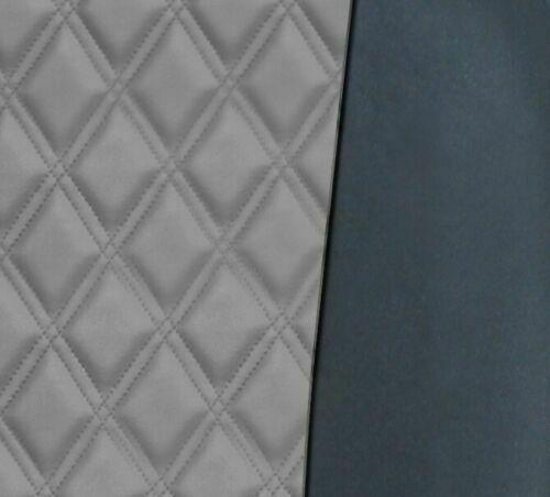 2+1 avant Sitzbezüge Housses de protection gris-noir en cuir synthétique avec rauteprint
