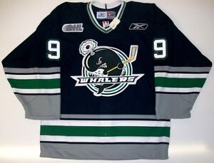 TYLER SEGUIN PLYMOUTH WHALERS JERSEY RBK AUTHENTIC 50 ULTRAFIL WITH ... cb09a45ca33