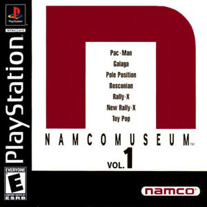Namco-Museum-Vol-1-PS1-Great-Condition-Complete-Fast-Shipping