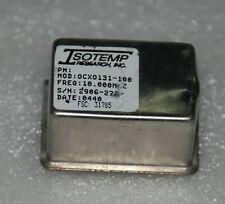 ISOTEMP 131-100 OCXO OSCILLATOR 10MHZ square wave