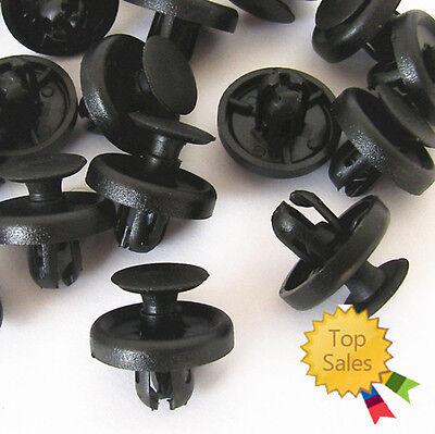 40 Pcs Black Nylon Rocker Moulding Retainer Clips 90467-10183 For Toyota Lexus
