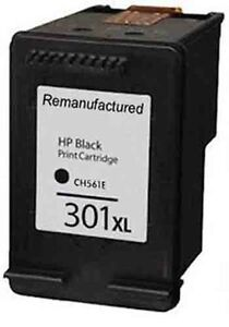 Details about Refilled HP 301XL Black Ink Cartridge For HP Deskjet 2540