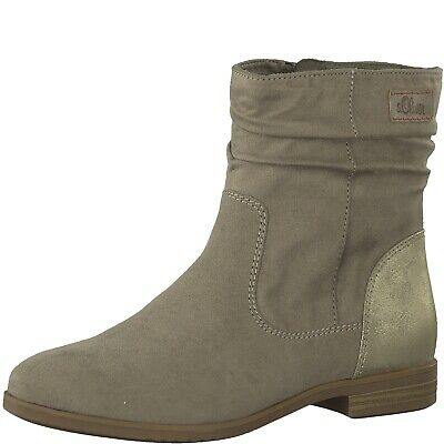 Softfoam S Ankle Faux Leather Boots 25312 SaleEbay oliver Ladies Offer hQdsCrtx