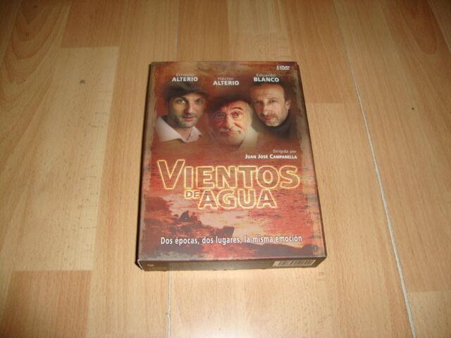 VIENTOS DE AGUA SERIE COMPLETA EN DVD CON 5 DISCOS Y 13 EPISODIOS EN BUEN ESTADO