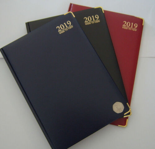 2019 Diary A5 Padded Week to View