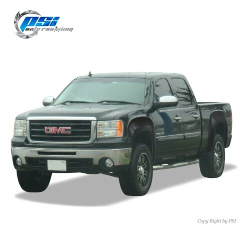Paintable OE Style Fender Flares Fits GMC Sierra 1500 2007-2013 5.8 Ft Bed Only
