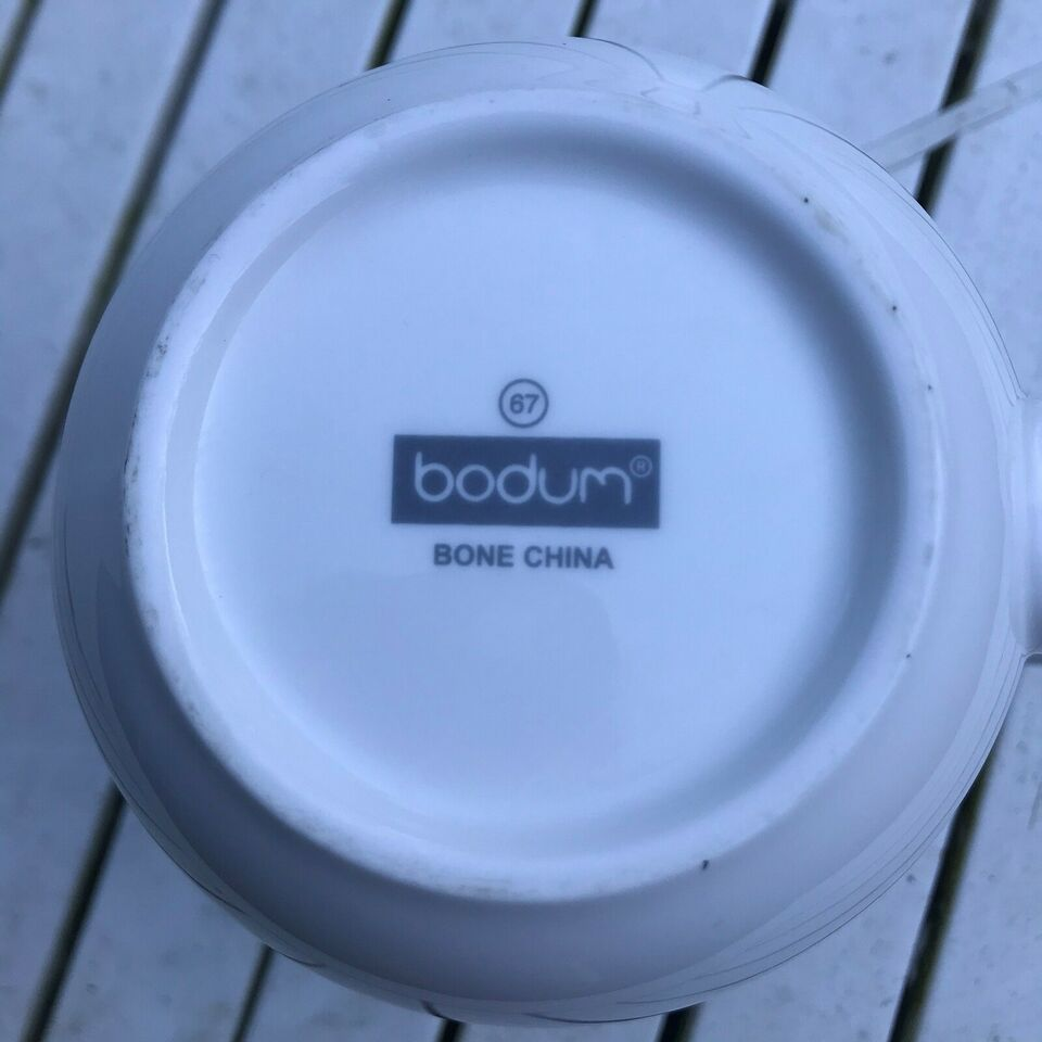 Porcelæn, Bodum bone china kande, Bodum
