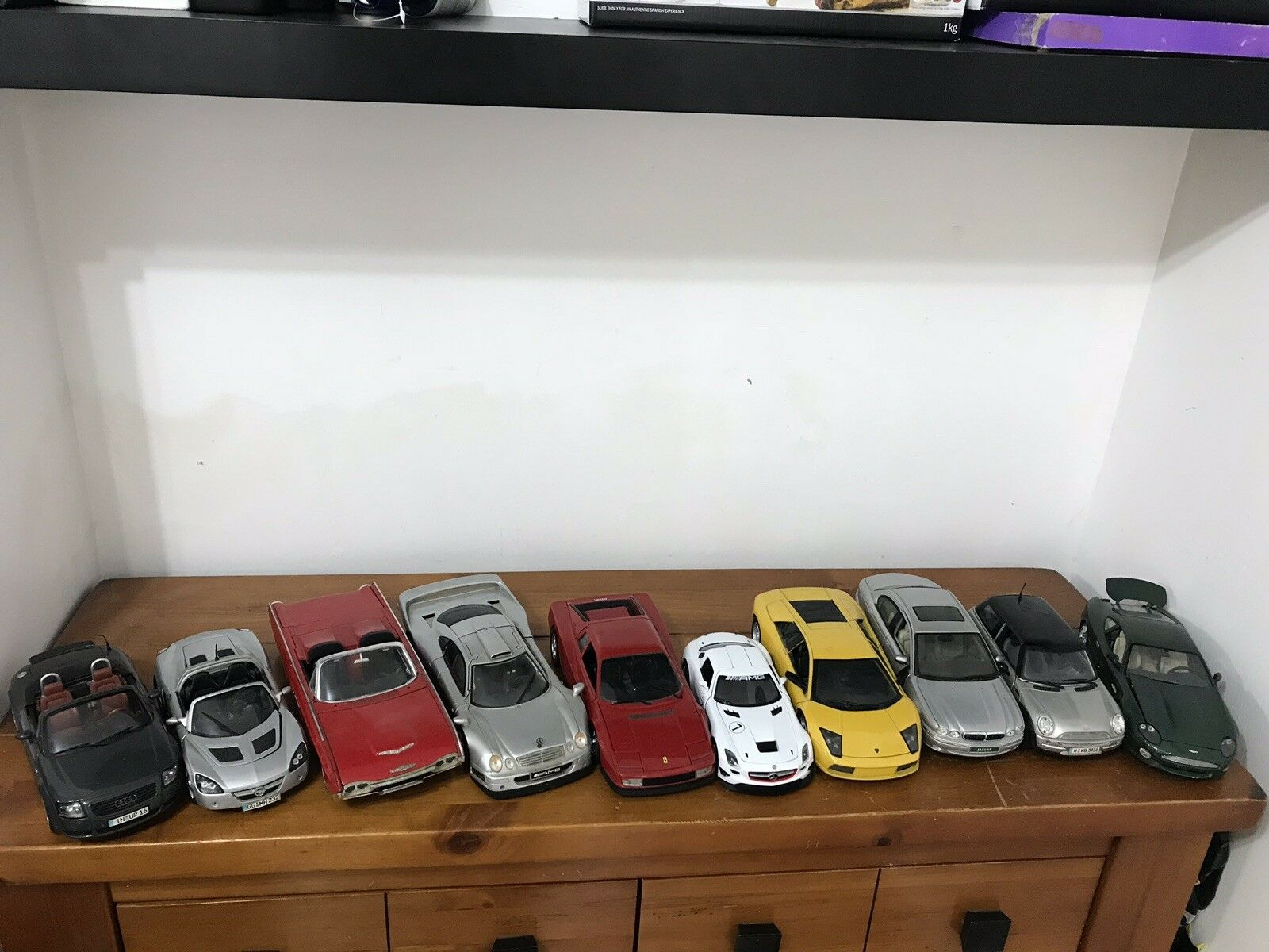 Maisto Job Lot Roadster Die cast Car Mix 10X Cars Scale 1 18 Only UK Bids