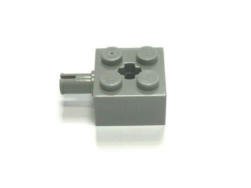 Pack Size Select Colour FREE P/&P! LEGO 6232 2X2 Brick w Pin /& Axlehole
