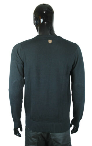 And Marl Jumper Raymund Neck Duck mid Black Pull Crew Over Grey Cover Top dYnq4F