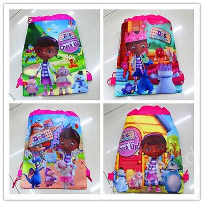 Doc Mcstuffins Bags Kids Swim Beach Drawstring Bag Children Gift New Kawaii