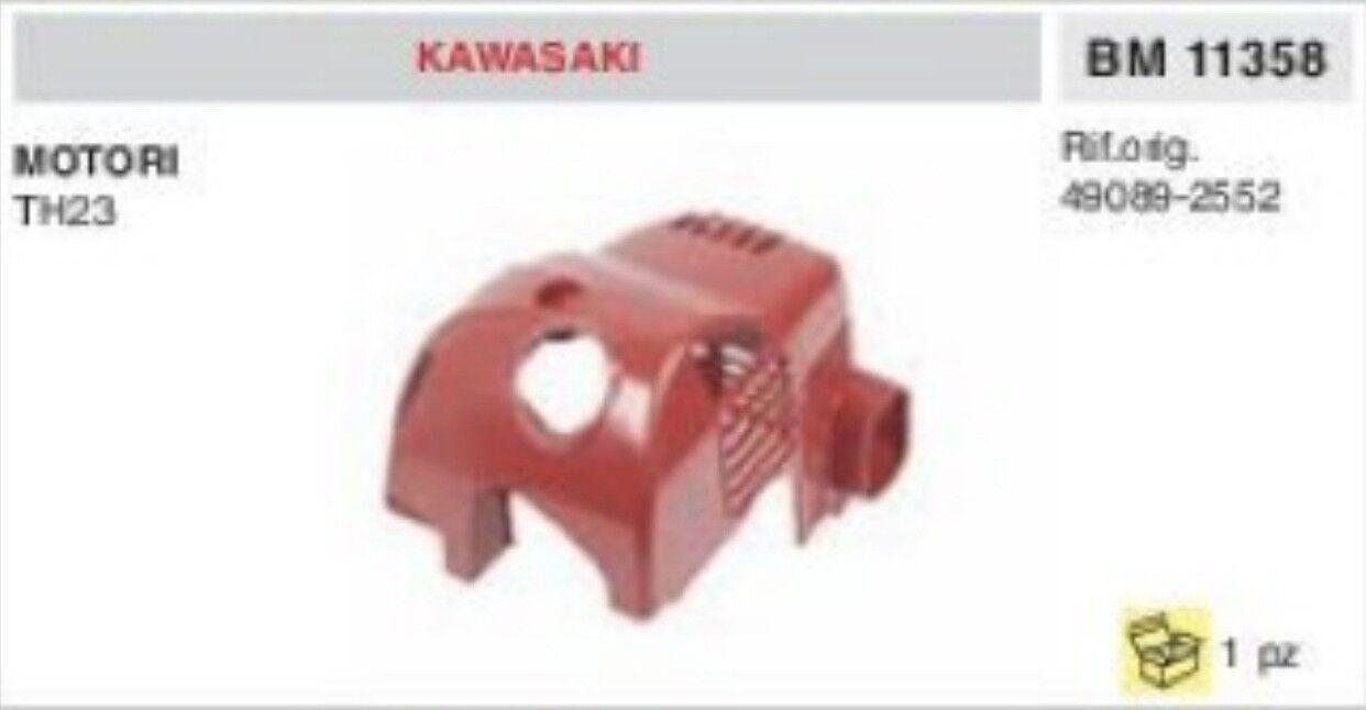 49089-2552 Cocheter súperior Plástico Casquillo Motor Kawasaki TH23 Th 23
