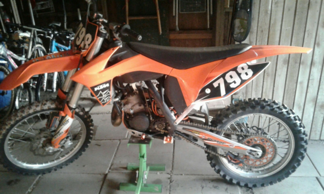 KTM, SX, 125 ccm, 34 hk, 2012, 5000 km, Orange, m.afgift,…