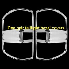15~16 2500HD Chrome Tail Light Bezel covers C For 2014~17 CHEVY SILVERADO 1500