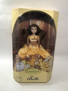 Disney Beauty & Beast Classic Doll Collection Belle Doll  Orig Box Vntg NIB Rare