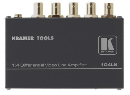 Kramer 104LN 1x4 Composite Video Differential Line Amplifier