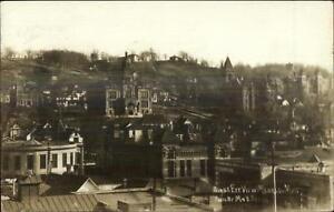 Mankato-MN-Birdseye-View-c1910-Real-Photo-Postcard