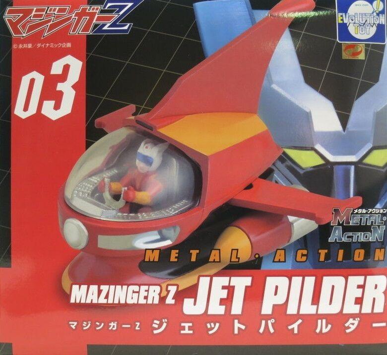 MAZINGER Z Jet Pilder 03   MAZINKAISER PILDER 05   04 METALHANDLINGSPROD leksak