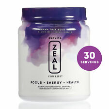 Zurvita- Zeal for Life- 30-Day Wellness Canister- Bold Grape (Guarana Free)