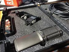 Superlux R102 Mk2 Ribbon Microphone + Shock Mount + Case + XLR