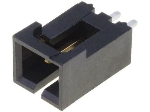 4x MX-70543-0001 Buchse Leitung-Platte männlich SL 2,54mm PIN 2 THT MOLEX