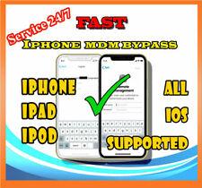 IPHONE IPAD MDM UNLOCK Bypass Apple Remote Management Profile Remove iOS 13.5