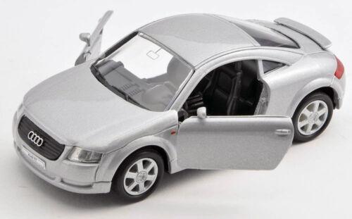 Blitz envío Audi TT plata//Silver Welly modelo auto 1:34 nuevo /& OVP 1