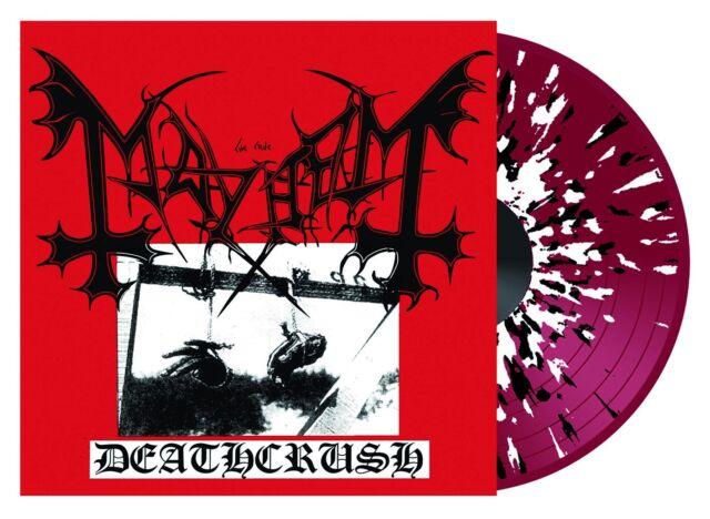 Mayhem - Deathcrush - Red Splatter Vinyl - record store day 2013 lp darkthrone