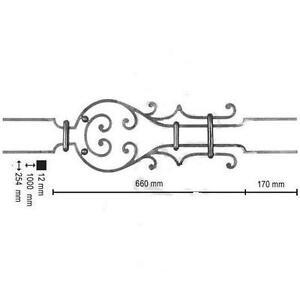 garde fou balustrade appui de fen tre garde corps fer forg sur mesure ebay. Black Bedroom Furniture Sets. Home Design Ideas