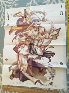 Aria The Animation Avvenire Anime Manga Poster Alicia Athena Akira Kozue Amano Ebay