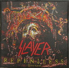 SLAYER PATCH / AUFNÄHER # 39 REPENTLESS - 10x10cm