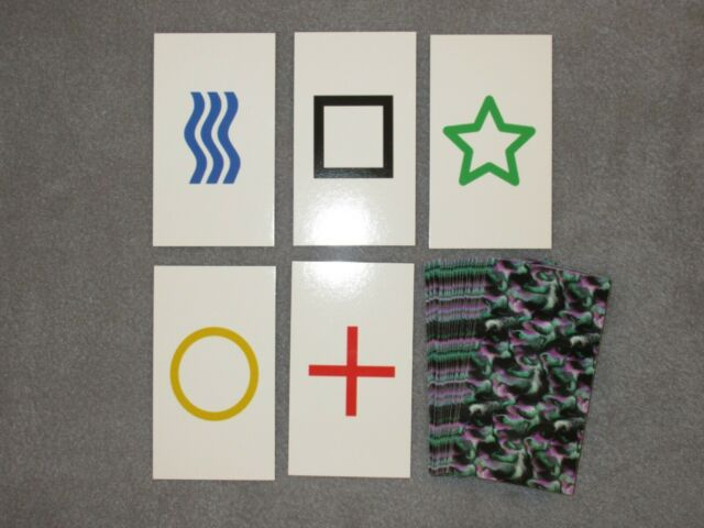 not marked not a magic trick 1PK E02C Low Cost zener style ESP Testing Cards