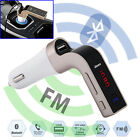 Bluetooth 4.1 Wireless Car AUX Stereo Audio Receiver FM Adapter USB Charger A2DP