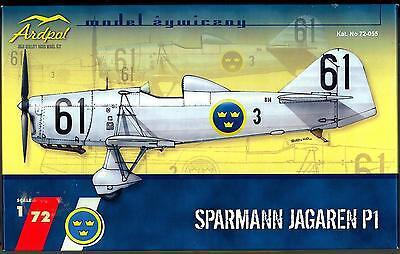 Ardpol Models 1/72 Swedish SPARMANN JAGAREN P-1 Fighter