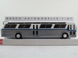 Busch-44511-vikingos-bus-Fishbowl-1959-con-equipamiento-letreros-1-87-h0-nuevo-en-el-embalaje