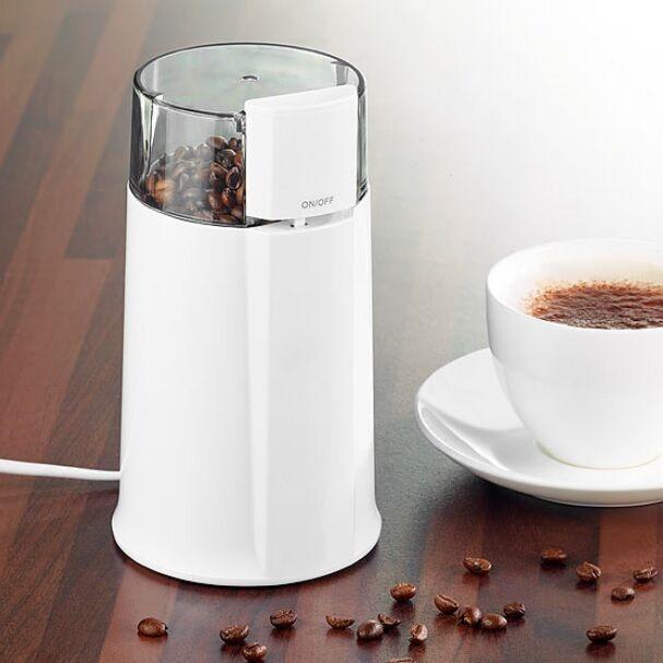 Elektrische Kaffeemühle Kaffee-Mühle Mahlwerk mit Edelstahl-Klinge Coffee Mill