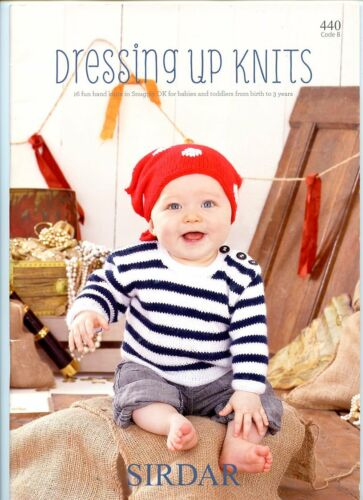 Sirdar Dressing Up Knits Knitting Pattern Book 440 Snuggly DK Santa Bunny Devil