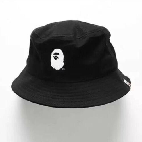 New A BATHING APE Fisherman Hat Camo Shark Jaw Bucket Head Cap Mens Hip Hop Hat