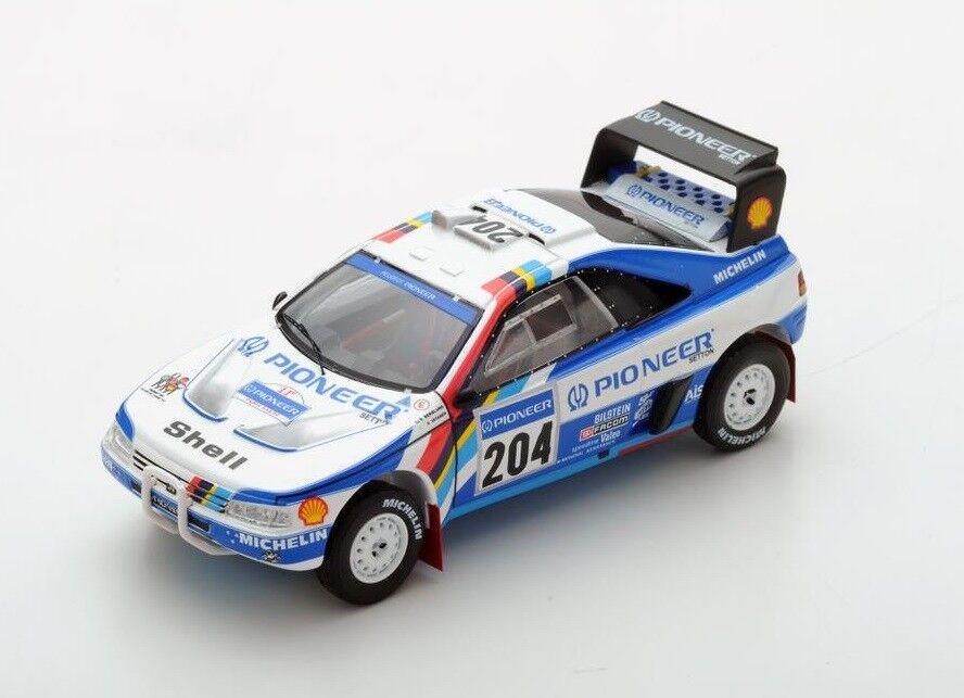 Peugeot 405 T16  204 Vatanen  Winner Paris Dakar  1989 (Spark 1 43   S5616)