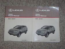 2002 Lexus RX300 Factory Shop Service Repair Manual 3.0L V6 AWD